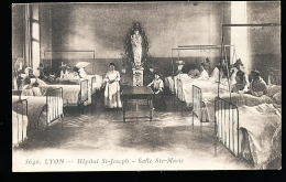 69 LYON 07 / Hôpital St Joseph, Salle Sainte Marie / - Lyon