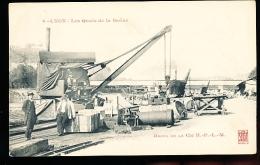 69 LYON 05 / Les Quais De La Saône, Docks De La Cie H.P.L.M / - Lyon