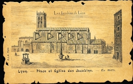 69 LYON 02 / Place Et Eglise Des Jacobins / - Lyon