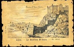 69 LYON 05 / Le Bastion St Jean En 1652 / - Lyon