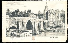 69 LYON 05 / Le Pont De Pierre / - Lyon