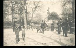 69 LYON 02 / Place Carnot, Le Marché Aux Chiens / - Lyon