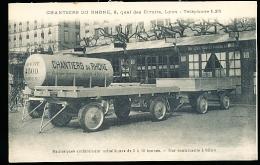 69 LYON 05 / Chantiers Du Rhône, Remorques Métalliques De 2 à 10 Tonnes / - Lyon