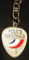 Porte Clés Police Nationale, Nouveau Logo - Police & Gendarmerie