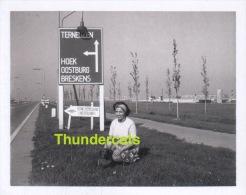 OUDE FOTO 1969 **   INGANG TERNEUZEN   **  ANCIENNE PHOTO 1969 - Lieux