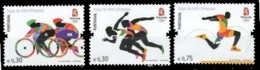 (58) Portugal  Sport / Beijing Olympics / Cycling / Running ** / Mnh  Michel 3276-78 - Unclassified