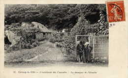 78 --CERNAY--la-VILLE- L´extrémité Des Cascades-La Demeure De L´Ermite- Animée - Cernay-la-Ville