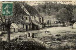 78 --CERNAY--la-VILLE- Le Grand Moulin Et L´établissement De Pisiculture - Cernay-la-Ville