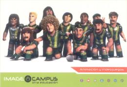 IMAGE CAMPUS OTRA EDUCACION - ANIMACION Y VIDEOJUEGOS CARTE PUBLICITAIRE - School