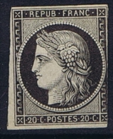 France: 1849, Yv Nr 3 Not Used (*) - 1849-1850 Cérès