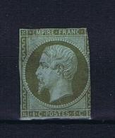 France: 1853, Yv Nr 11 MH/*