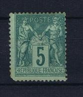 France: 1876, Yv Nr 75  MH/*