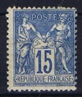 France: 1876, Yv Nr 90  MH/*