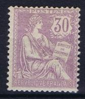 France: 1902, Yv Nr 128  MH/* - Neufs