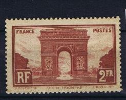 France: 1929, Yv Nr 258  MH/*, - France