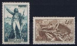 France: 1936, Yv Nr 314 -  315 MH/*,