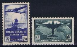 France: 1936, Yv Nr 319 - 321 MH/*,