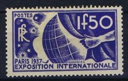 France: 1936, Yv Nr 327 MH/*,