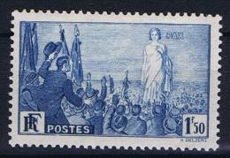 France: 1936, Yv Nr 328 MH/*,