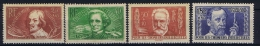 France: 1936, Yv Nr 330 - 333 MH/*,