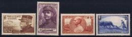 France: 1940, Yv Nr 454 - 457   MH/*
