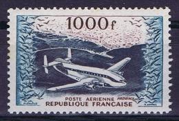 France: 1954, Yv Nr Aero Nr 33 MH/*