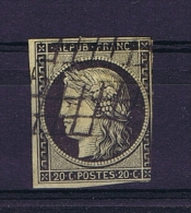 France: 1850 Yv 3 , Used