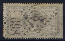 France: 1867 Yv 33, Used Has Tin Spots - 1863-1870 Napoleone III Con Gli Allori