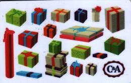 Carte Cadeau Gift Card Geschenkkarte Carte Neuve Non Chargée Usage Unique Pour La Collection !