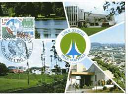 France - 1975 - Yvert 1855 -  CM. L'Isle D'Abeau. Ville Nouvelle. 1er Jour - Cartoline Maximum