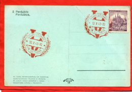 PARDUBICE 1941 MOROSTRAVA - Storia Postale