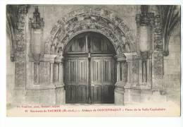 Abbaye De FONTEVRAULT - Porte De La Salle Capitulaire - N° 49 Fr. Voelcker - Env. De Saumur - Altri Comuni