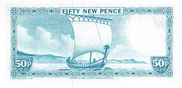 ISLE OF MAN P. 33a 50 P 1979 UNC - [ 4] Isle Of Man / Channel Island