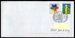 71486) BRD - Michel USo 21 A II Mit SoST 80634 MÜNCHEN 2 Vom 7.3.2002 - Briefmarkentage, 1000 J. Deggendorf, Kirche - [7] West-Duitsland