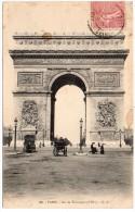 CP, 75, PARIS, Arc De Triomphe, Voyagé En 1905 - Arc De Triomphe