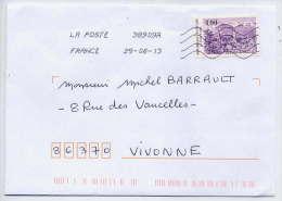 1991-----tp  Vallée De Munster ----seul Sur Lettre--- Utilisation Tardive  --datée 2013 - Storia Postale
