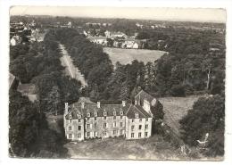 Denneville (50) :  Vue Aérienne Générale Au Niveau Du Château Du Breuil En 1967. - Sonstige Gemeinden