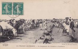 MAROC  CARTE POUR LA FRANCE - Covers & Documents