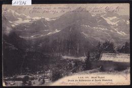 Mont Ruant, Dents De Bonnaveau (Bonnavaux) Et Dents Blanches (11´896) - VS Wallis