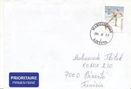 Lettre Vers La Tunisie 13 2 2004 - Lituania