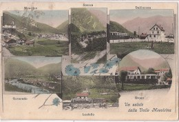 R7 543 - LOSTALLO SOAZZA MESOCCO BELLINZONA GRONO ROVEREDO - SVIZZERA - VG. - A. 1908 - GR Grisons