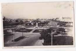 Chile Santiago Tarjeta Postal Foto Antigua Ca1920   Plaza Baquedano  Vintage Original Postcard Cpa Ak (W3_2082) - Chile