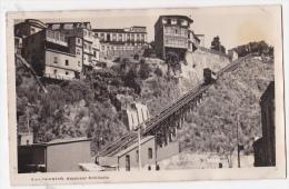 Chile Valparaiso Tarjeta Postal Foto Antigua  Ca1920  Vintage Original Postcard Cpa Ak (W3_2089) - Chile