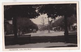Chile Valparaiso Tramway Tarjeta Postal Foto Antigua  Ca1920  Vintage Original Postcard Cpa Ak (W3_2094) - Chile