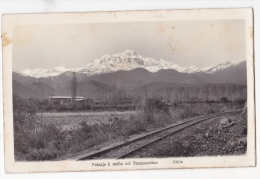 Chile  Cordillera Railway Train Tarjeta Postal Foto Antigua  Ca1920  Vintage Original Postcard Cpa Ak (W3_2110) - Chile
