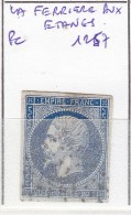 FRANCE - Dpt ORNE - S/14 - 20c Bleu - Oblit PC 1257 ( La Ferriere Aux Etangs) - Marcophily (detached Stamps)