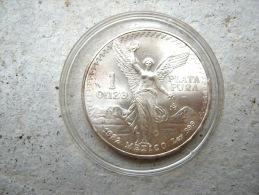 MONNAIE MEXIQUE EN ARGENT 1982 MEXICO POIDS 32GR - Mexique