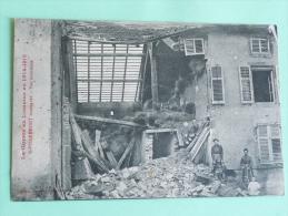 Guerre En Lorraine , 1914-1915, ST PIERREMONT Bombardé - - Andere Gemeenten