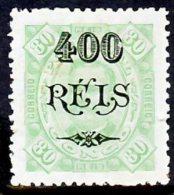 !■■■■■ds■■ Congo 1902 AF#38* Surcharges 400/80 Réis Lozanged 12,5 Mint (x1712) - Portuguese Congo
