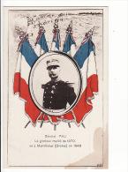 Carte 1914 GENERAL PAU ,glorieux Mutilé De 1870 Né à Montélimar En 1848 - Personnages